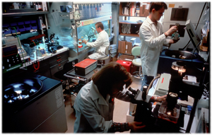 Image depicting a research lab.